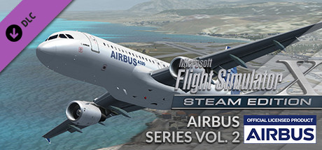 FSX Steam Edition: Airbus Series Vol. 2 Add-On