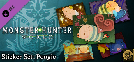 Monster Hunter: World - Sticker Set: Poogie