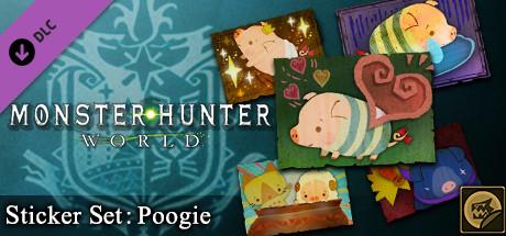 Monster Hunter: World - Sticker Set: Poogie