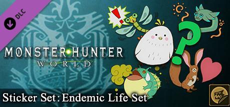 Monster Hunter: World - Sticker Set: Endemic Life Set