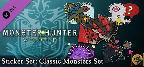 Monster Hunter: World - Sticker Set: Classic Monsters Set