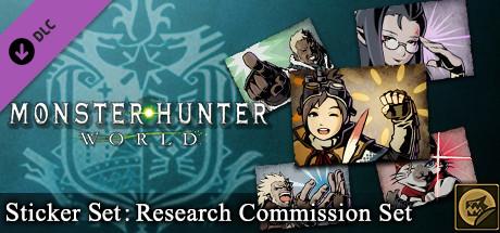 Monster Hunter: World - Sticker Set: Research Commission Set