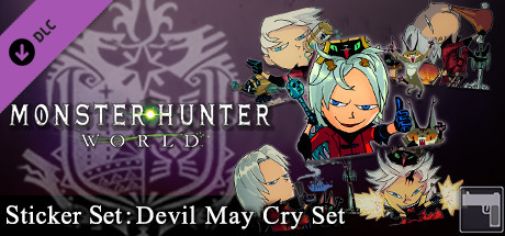Monster Hunter: World - Sticker Set: Devil May Cry Set