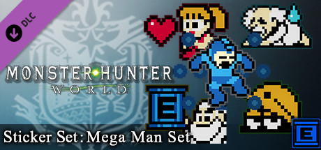 Monster Hunter: World - Sticker Set: Mega Man Set