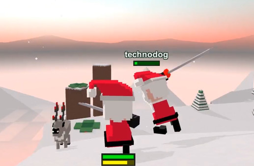 Screenshot of Long Live Santa!