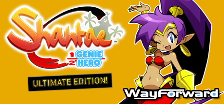 Shantae: Half-Genie Hero Ultimate Edition cover art