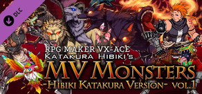 RPG Maker VX Ace - MV Monsters HIBIKI KATAKURA ver Vol.1