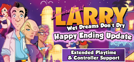 Leisure Suit Larry – Wet Dreams Don't Dry Capa