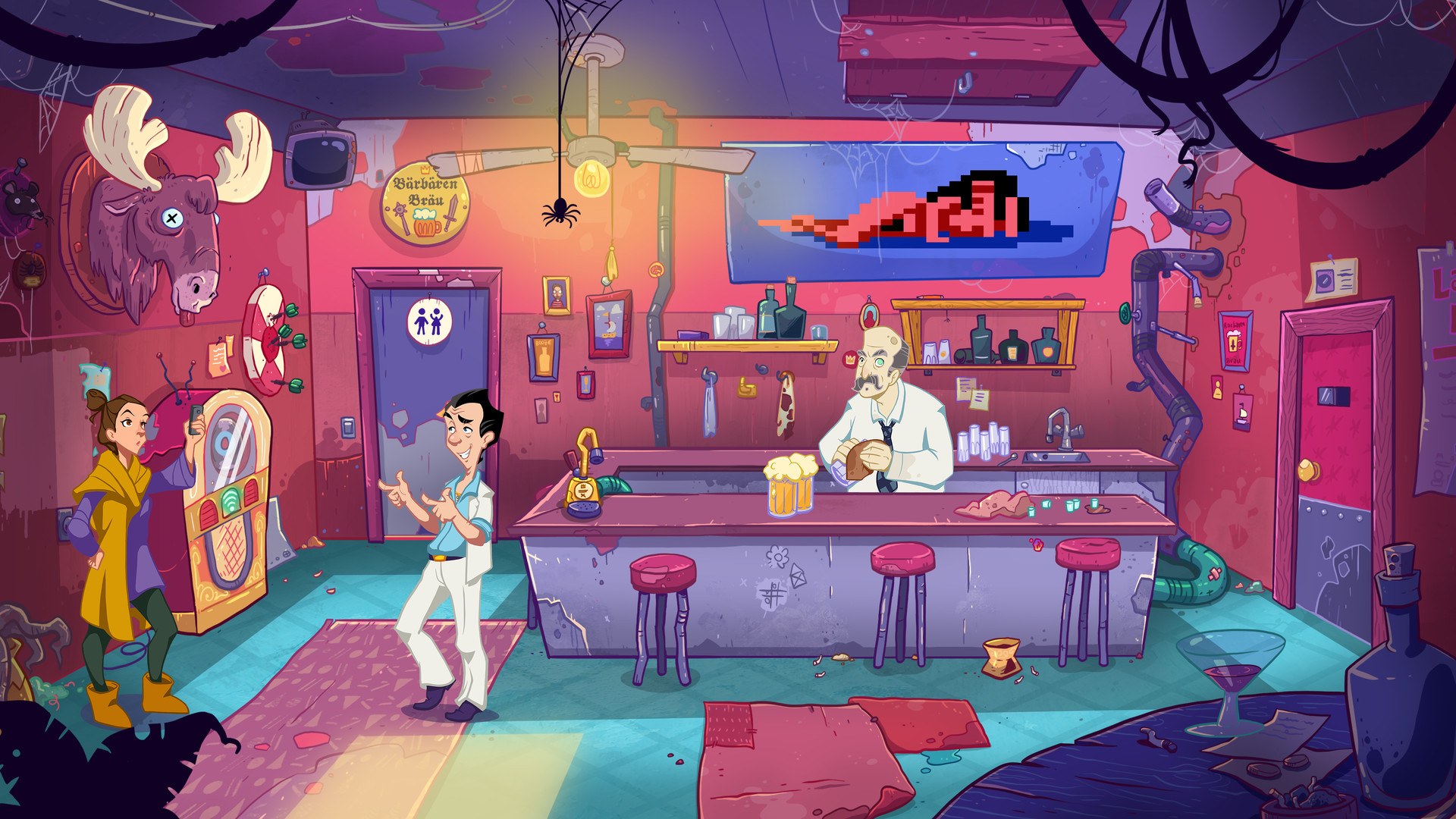 Leisure Suit Larry - Wet Dreams Don't Dry [GOG] [2018|Rus|Eng]