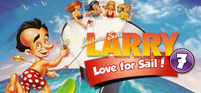 Leisure Suit Larry 7 - Love for Sail cover art