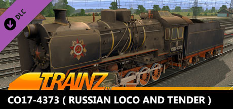 TANE DLC - CO17-4373 ( Russian Loco and Tender )