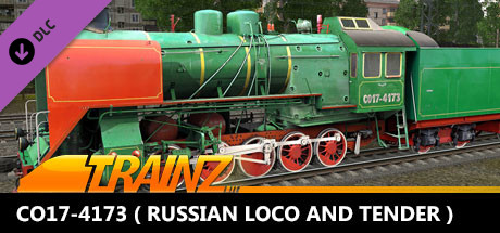TANE DLC - CO17-4173 ( Russian Loco and Tender )