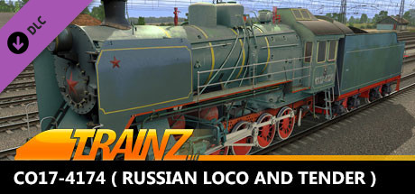TANE DLC - CO17-4174 ( Russian Loco and Tender )