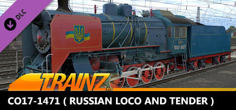 TANE DLC - CO17-1471 ( Russian Loco and Tender )
