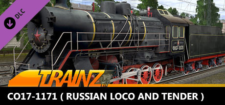 TANE DLC - CO17-1171 ( Russian Loco and Tender )