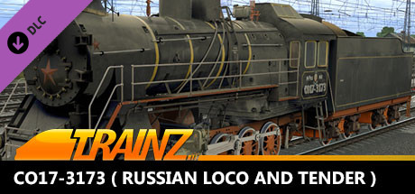 TANE DLC - CO17-3173 ( Russian Loco and Tender )