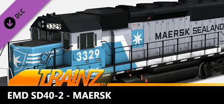 TANE DLC - EMD SD40-2 - Maersk