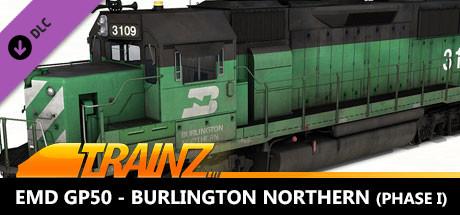 TANE DLC - EMD GP50 - Burlington Northern (Phase I)