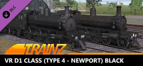 TANE DLC - Victorian Railways D1 Class (Type 4 - Newport) Black