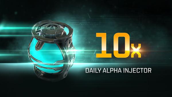 Скриншот из EVE Online: 10 Daily Alpha Injectors