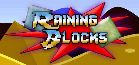 Raining blocks cover art