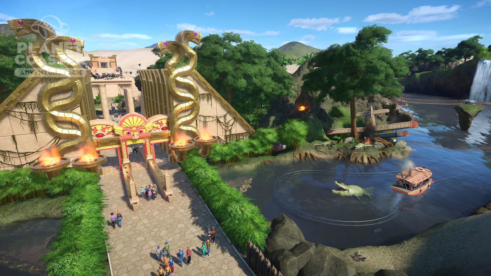 gambar game planet coaster Game Pc Simulator Terpopuler Sepanjang Tahun