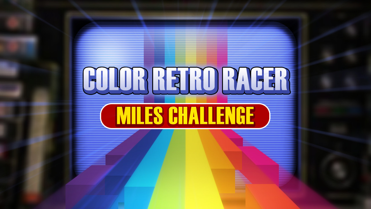 FIRST STEAM GAME VHS - COLOR RETRO RACER : MILES CHALLENGE ...
