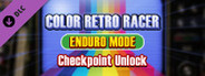 COLOR RETRO RACER : ENDURO MODE *Checkpoint Unlock*