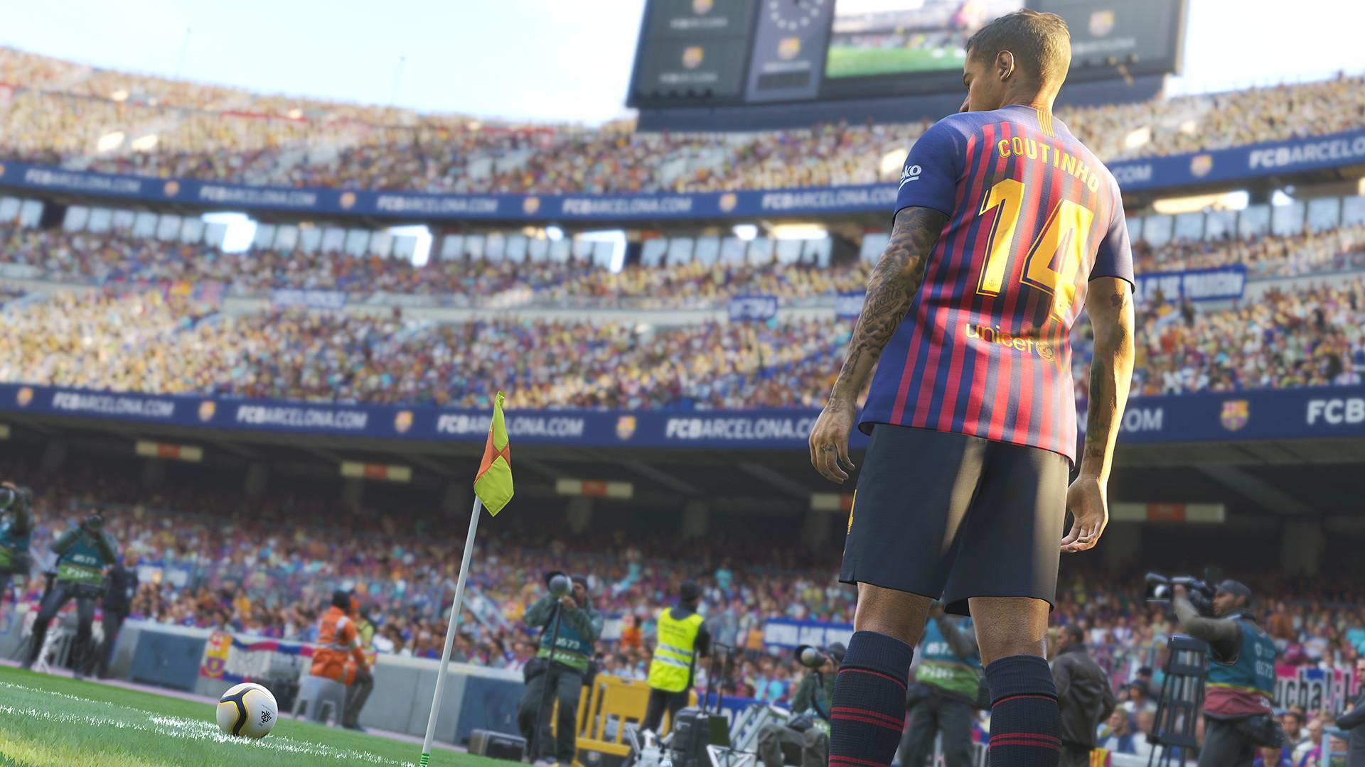 Pro Evolution Soccer 2019 Screenshot 1