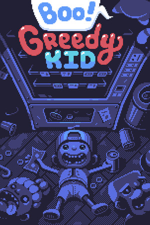 Boo! Greedy Kid poster image on Steam Backlog