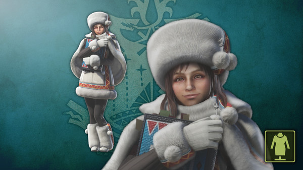 KHAiHOM.com - Monster Hunter: World - The Handler's Winter Spirit Coat