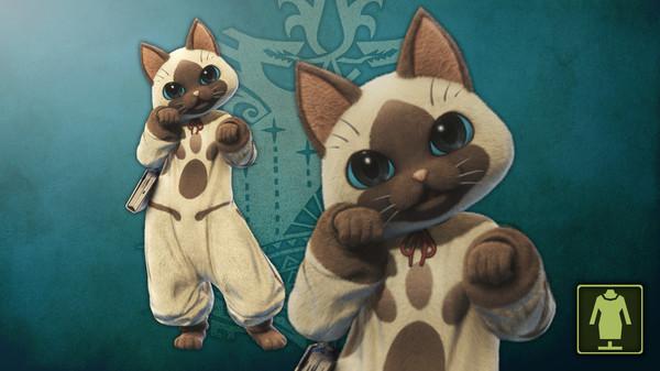 KHAiHOM.com - Monster Hunter: World - The Handler's Friendly Felyne Costume