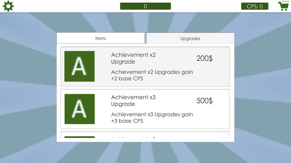 Achievement Clicker 2018