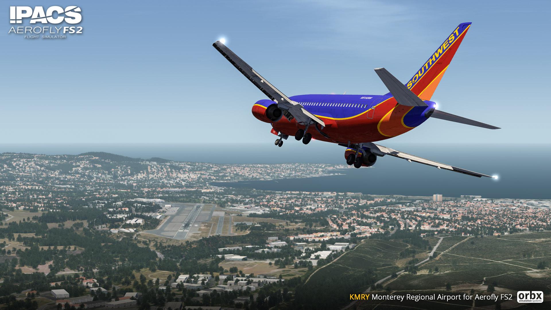 Aerofly FS 2 - Orbx - Monterey Regional Airport
