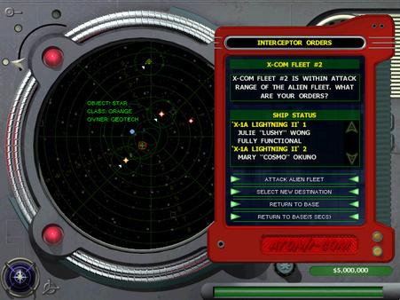 Скриншот из X-COM: Interceptor
