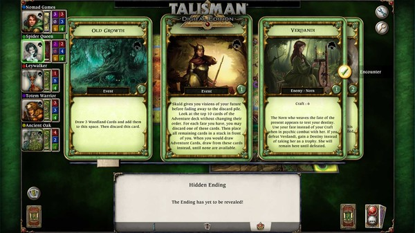 скриншот Talisman - The Woodland Expansion 4