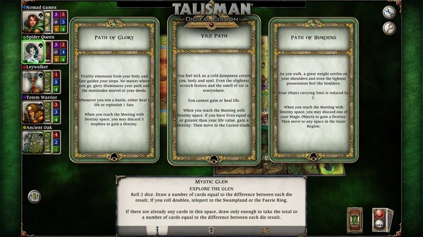скриншот Talisman - The Woodland Expansion 5