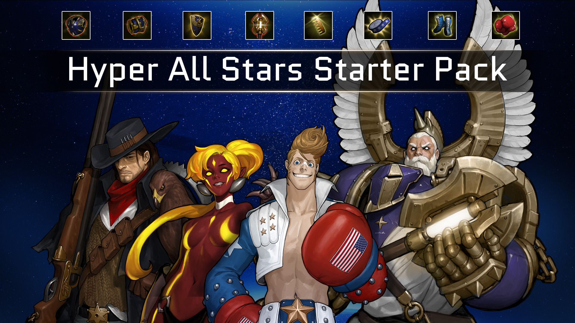 Hyper Universe: Hyper All Stars Starter Pack 2018 pc game Img-4