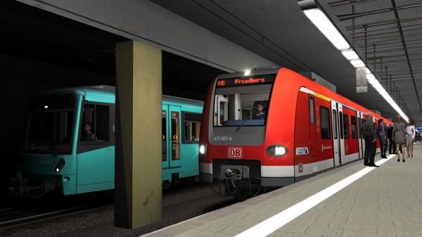 скриншот Train Simulator: Frankfurt S-Bahn Rhein Main Route Add-On 5