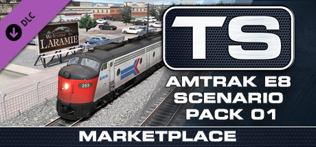 TS Marketplace: Amtrak E8 Scenario Pack 01 Add-On