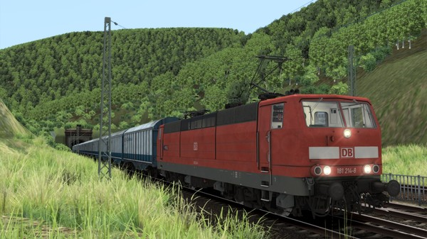 скриншот Train Simulator: DB BR 181.2 Loco Add-on 2