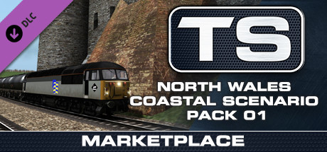 TS Marketplace: North Wales Coastal Scenario Pack 01 Add-On