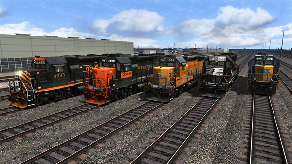 скриншот Train Simulator: GP40-2 Loco Pack Add-On 0