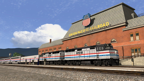 скриншот Train Simulator: Salt Lake City Route Extension Add-On 0