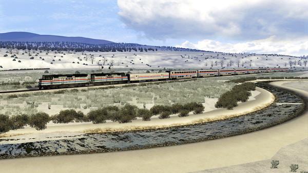 скриншот Train Simulator: Salt Lake City Route Extension Add-On 2