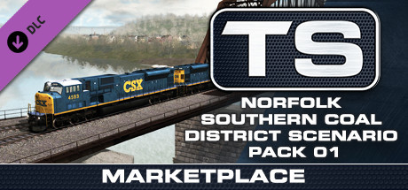 TS Marketplace: Norfolk Southern Coal District Scenario Pack 01 Add-On