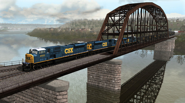скриншот TS Marketplace: Norfolk Southern Coal District Scenario Pack 01 Add-On 0
