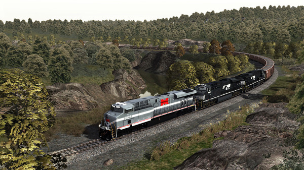 скриншот TS Marketplace: Norfolk Southern Coal District Scenario Pack 01 Add-On 5