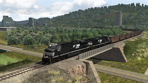 скриншот TS Marketplace: Norfolk Southern Coal District Scenario Pack 01 Add-On 4