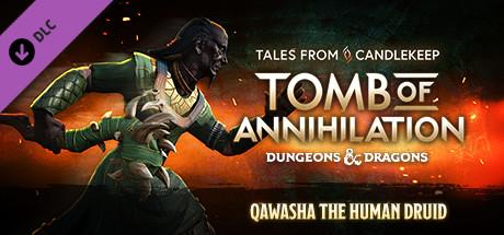 Tales from Candlekeep - Qawasha the Human Druid cover art